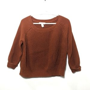 Forever 21 Knit Cropped Sweater